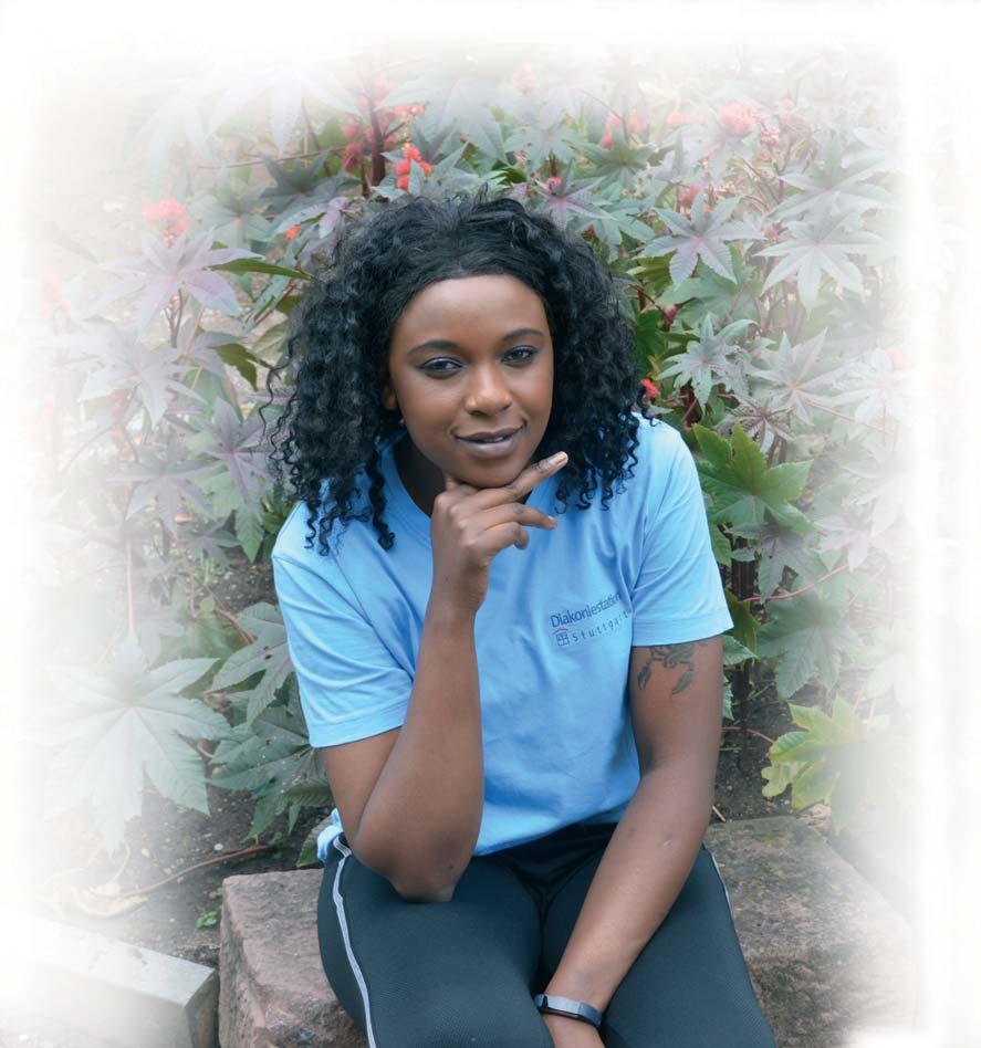 Mitarbeiterin aus Kenia